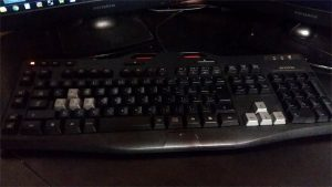 今使ってるLogitech G105 Gaming Keyboard